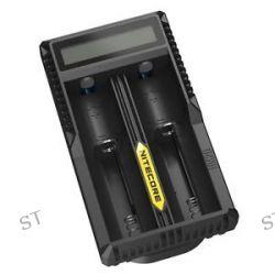 Nitecore USB Power LCD Intelligent Li ion Battery Charger Monitor 2 Slots UM20
