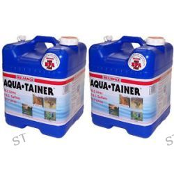 Reliance Two 7 Gallon Aqua Tainer Water Containers w New Vent 9410 03 Brand New