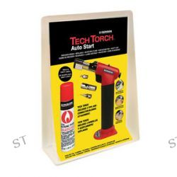 Genuine Ronson Tech Tourch Auto Start with 3 Tips and Butane Fuel 80011 New