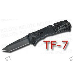 S O G SOG Black TINI Trident Tanto Assisted TF 7 New