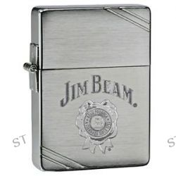 Zippo Jim Beam Logo Engraved 1935 Replica with Slashes Outside Hinge 28070 New