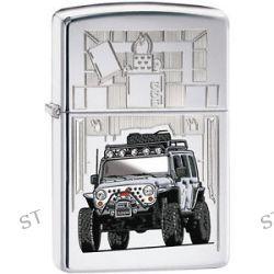 Zippo Car Jeep Wrangler High Polish Chrome Windproof Lighter 28508 New L K