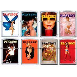 Zippo Playboy Cover 8 Lighter Set Pin Up Pinup RARE Set 6 New L K