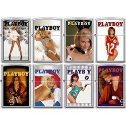 Zippo Playboy Cover 8 Lighter Set Pin Up Pinup RARE Set 7 New L K