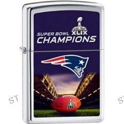 Zippo 2015 NFL XLIX Super Bowl Champions New England Patriots Polish Chrm 28897