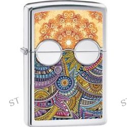 Zippo Chromed Out Sunglasses with Bright Colors Intricate Patterns Lighter 28871