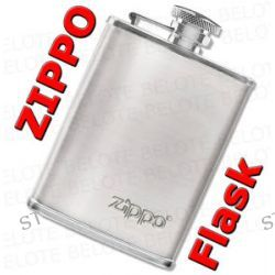 Zippo Choice Collection 3 oz Stainless Steel High Polish Flask 122228 New