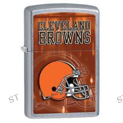 Zippo 2014 NFL Cleveland Browns Street Chrome Lighter Brand New in Box 28588