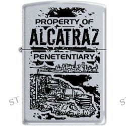 Zippo Property of Alcatraz Penetentiary San Fransisco Lighter RARE Hard to Find