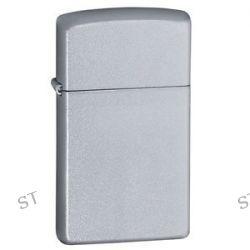 Zippo Slim Satin Chrome Lighter Model 1605 Lifetime GUARANTEE New L K
