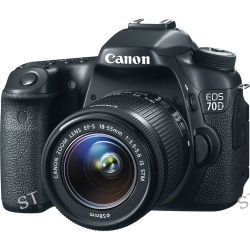 Canon EOS 70D DSLR Camera with 18-55mm Lens Deluxe Kit B&H Photo