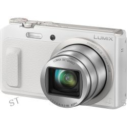 Panasonic Lumix DMC-ZS45 Digital Camera (White) DMC-ZS45W B&H