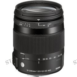 Sigma 18-200mm f/3.5-6.3 DC Macro OS HSM Lens For Sigma 885-110