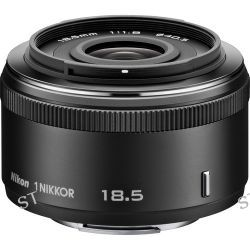 Nikon  1 NIKKOR 18.5mm f/1.8 Lens (Black) 3323 B&H Photo Video