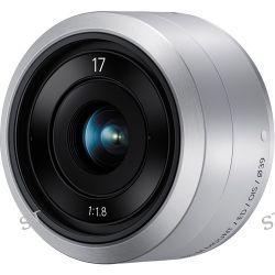 Samsung NX-M 17mm f/1.8 OIS Lens (Silver) EX-YN17ZZZASUS B&H