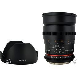 Rokinon 35mm T1.5 Cine AS UMC Lens for Sony E Mount CV35-NEX B&H