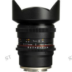 Rokinon 14mm T3.1 Cine ED AS IF UMC Lens for Sony E CV14M-NEX