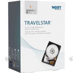 "HGST 1TB Travelstar 2.5"" Mobile Hard Drive 0S03508 B&H"