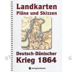 Bücher: Deutsch-Dänische Krieg 1864. LANDKARTEN, PLÄNE UND SKIZZEN. Große Generalstabs Ausgabe. Landkartenband + (2 Bände)