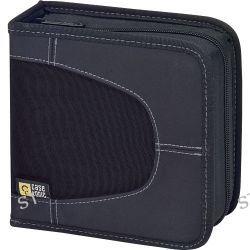 Case Logic CDW-16 16 Capacity CD Wallet (Black) CDW-16 B&H Photo