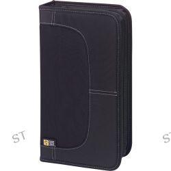 Case Logic CDW-64 64 Capacity CD Wallet (Black) CDW-64 B&H Photo