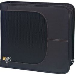Case Logic CDW-320 320 Capacity CD Wallet (Black) CDW-320 B&H