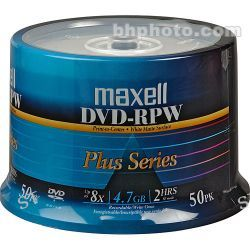 Maxell DVD-R Inkjet Printable White Recordable Disc 635061 B&H