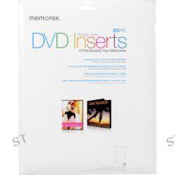 Memorex  DVD Storage Case Inserts (25) 00713 B&H Photo Video