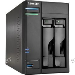 Asustor  AS-602T 2-Bay NAS Server AS-602T B&H Photo Video