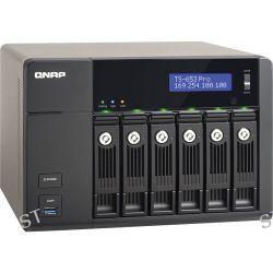 QNAP TS-653-Pro 6-Bay SMB NAS Server TS-653-PRO-US B&H Photo