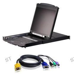 """ATEN CL5808NCKIT 8-Port 19"""" Dual Rail LCD KVM CL5808NCKIT"""