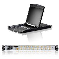ATEN CL5816N 16-Port Dual Rail LCD KVM Switch CL5816N B&H Photo