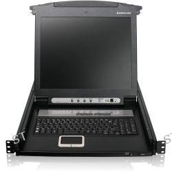 "IOGEAR 16-Port 17"" LCD Combo KVM Switch GCL1816 B&H Photo"