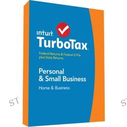 Intuit TurboTax Home & Business Federal E-File + 424480 B&H