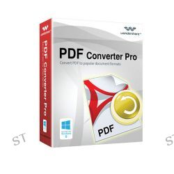 Wondershare PDF Converter Pro v4 for Windows (Download) 10177986