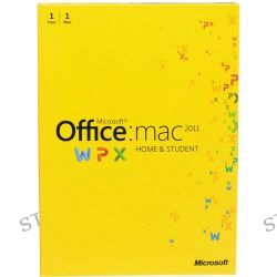 Microsoft Office for Mac Home and Student Edition 2011 GZA-00202