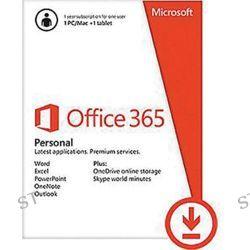 Microsoft  Office 365 Personal QQ2-00092 B&H Photo Video