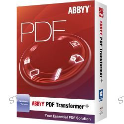 ABBYY  PDF Transformer+ (Download) PDFTFW4XE B&H Photo Video