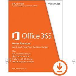Microsoft  Office 365 Home 6GQ-00091 B&H Photo Video