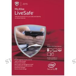McAfee LiveSafe 2015 (1-Year Subscription, Download)