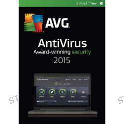 AVG  AntiVirus 2015 AV15N12EN003-ESD B&H Photo Video