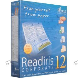 IRIS Readiris Pro 12 Corporate Software for PC RIPC12CE B&H
