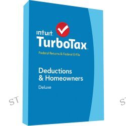Intuit TurboTax Deluxe Federal + E-File 2014 424483 B&H Photo