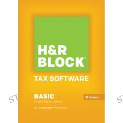 H&R Block Basic 2013 Tax Software for Mac (Download) 1023800-13