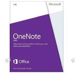 Microsoft OneNote 2013 Software (Product Key) S26-05028 B&H