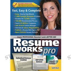 Individual Software Resume Works Pro (Download) RESWORKSPRON B&H