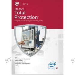 McAfee  Total Protection 2015 MTP15E001RKA B&H Photo Video