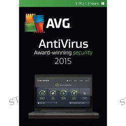 AVG  AntiVirus 2015 AV15N24EN003-ESD B&H Photo Video