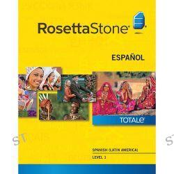 Rosetta Stone Spanish / Latin America Level 1 27868WIN B&H Photo