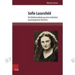 Bücher: Sofie Lazarsfeld  von Martina Siems